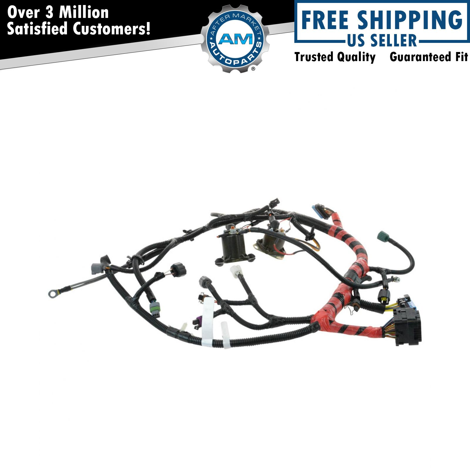 Oem F81z12b637fa Main Engine Wiring Harness For Super Duty Pickup Truck Suv New