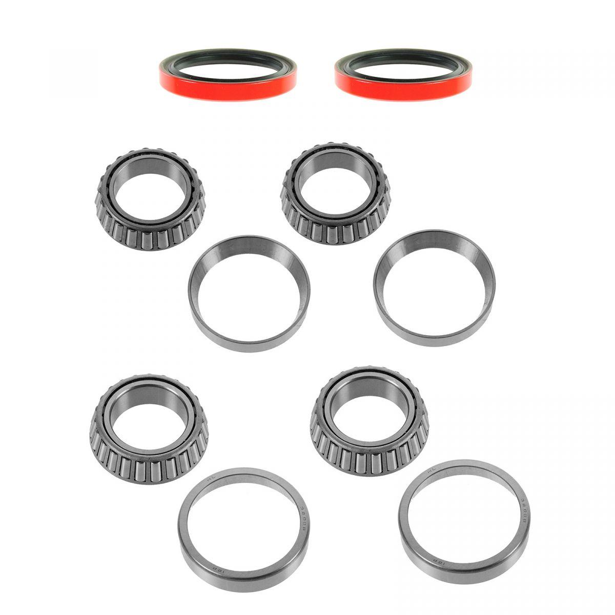 Front Wheel Bearing Race Seal Kit Set Inner Amp Outer For