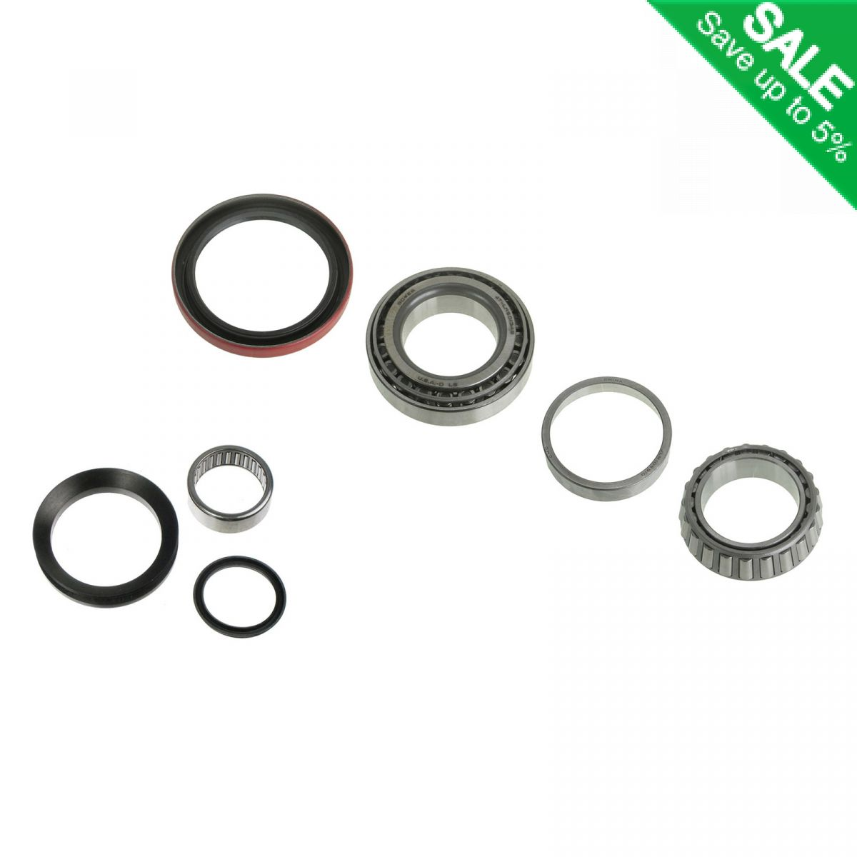 Front Spindle Amp Wheel Bearing Repair Kit For Chevy Gmc