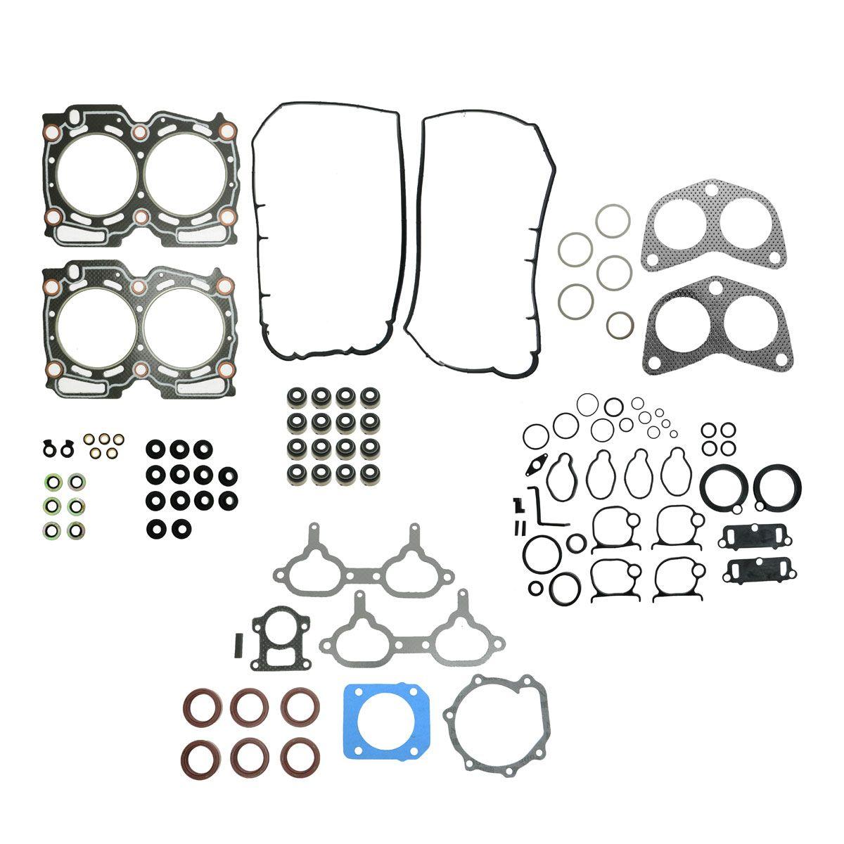 Engine Head Manifold Gasket Set Kit For Impreza Legacy