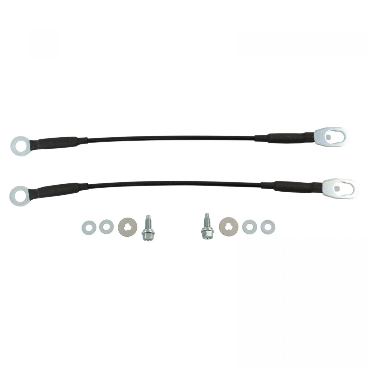 Tailgate Tail Gate Cables Pair Set For 98 04 Nissan