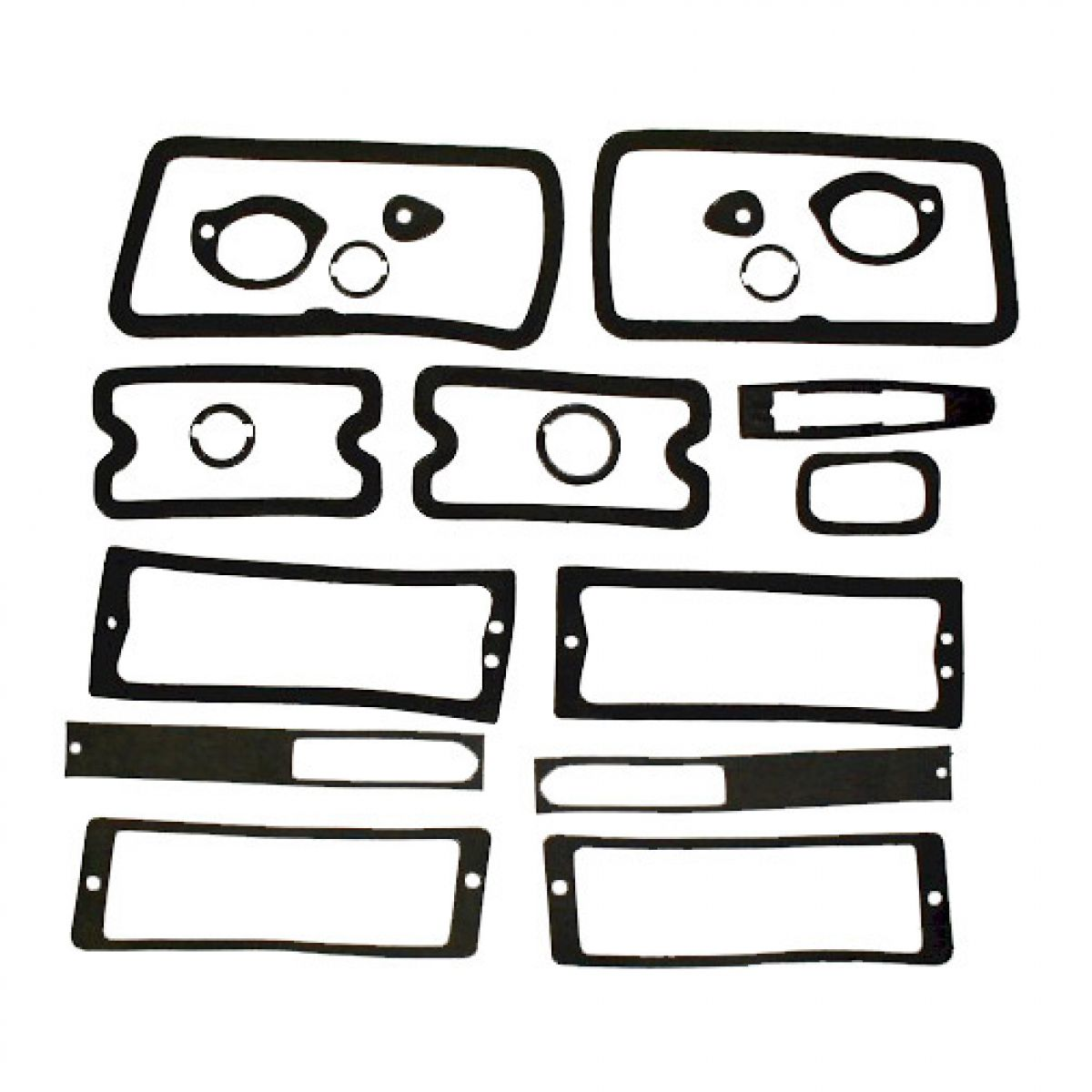 Exterior Body Paint Gasket Set Kit For 70 Chevy Chevelle