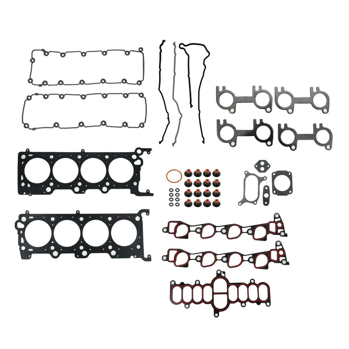 Engine Steel Head Gasket Set For Ford F Series Truck