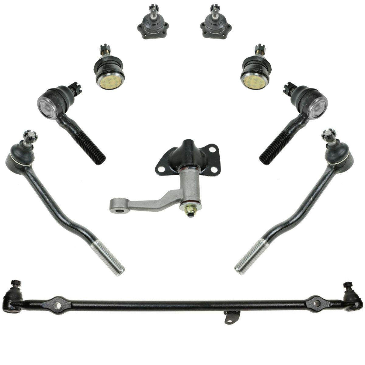 10 Piece Front Suspension Kit For 86 97 Nissan D21