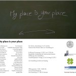 MY PLACE IS YOUR PLACE
