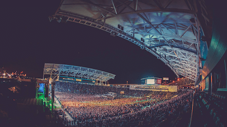 Monster Energy Rock Allegiance 2015: a packed house at Talen Energy Stadium