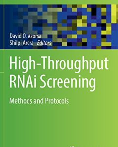 High-Throughput RNAi Screening PDF