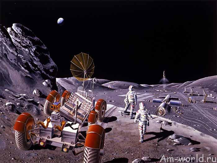 Холмы Мариуса — место для лунной базы