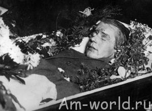Загадочная смерть Сергея Есенина