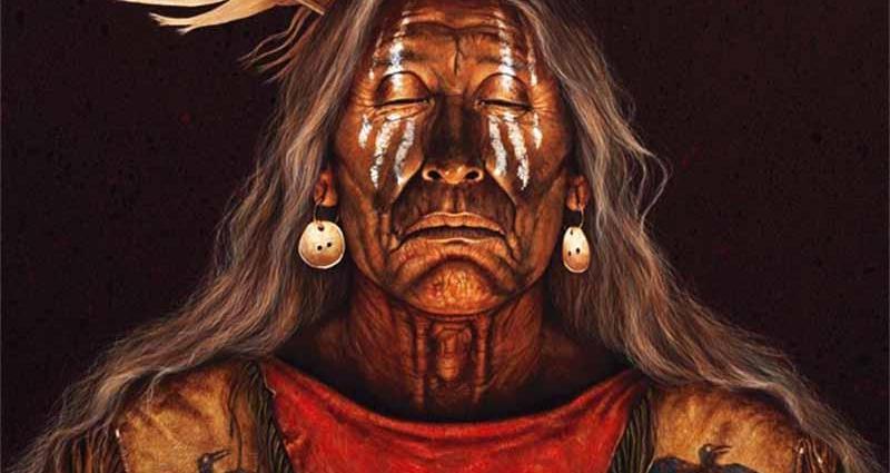 Колдовской ритуал индейского шамана