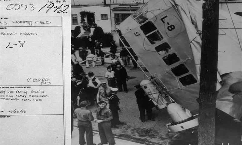 Куда исчез экипаж дирижабля L-8?