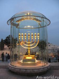 Менора - семиствольный светильник Моисея