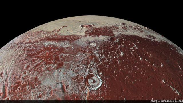 Плутон - девятая планета от солнца