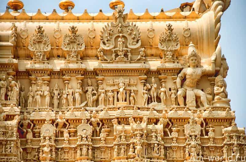Сокровища храма Падманабхасвами