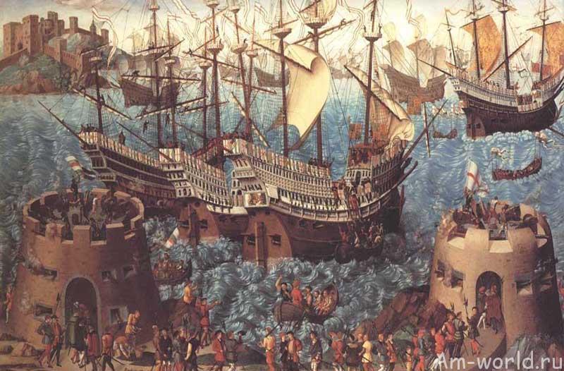 Черные корабли у Островов пряностей