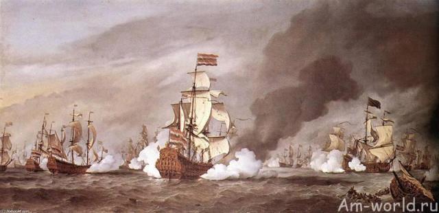 Адмиралы Вест-Индской компании против Серебряного флота