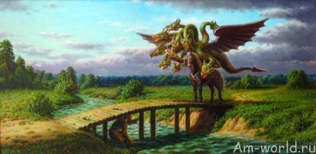 Калинов мост на границе с миром чудовищ
