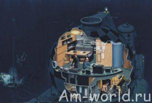 Подводные дома Жака-Ива Кусто