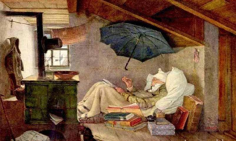 Поэт всегда поэт - богатый или бедный