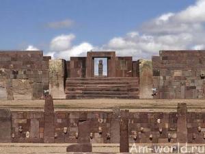 Тиуанако таинственный город в Боливии