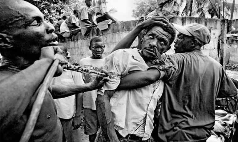 Зомбирование человека колдунами Гаити