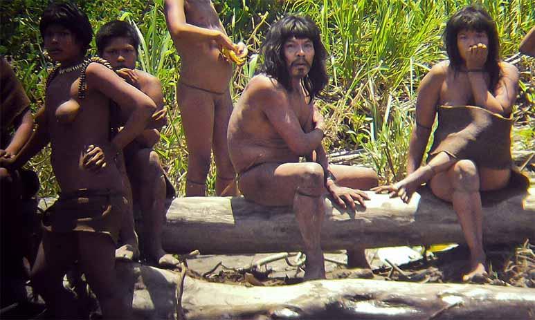 Бондо - племена голых людей