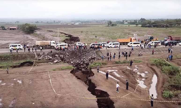 Последствия смещения тектонических плит
