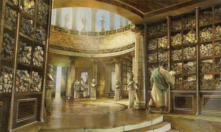 Уничтоженные книги - потерянные знания