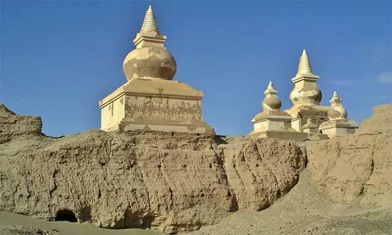 Хара-Хото — город под толщей песка пустыни Гоби