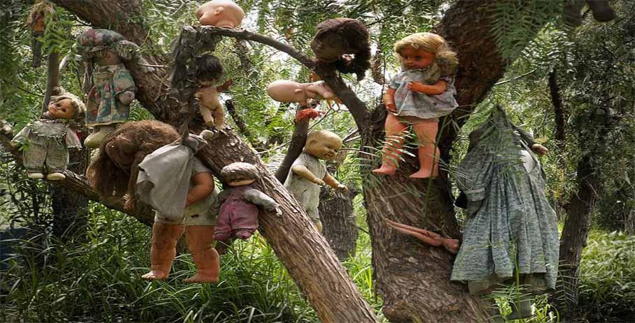 Тайна острова кукол в Мексике