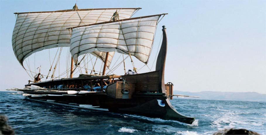 Как строились военные корабли в Древней Греции 3