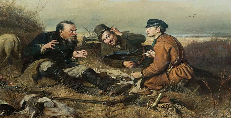 Настоящая охота — приметы и загадки