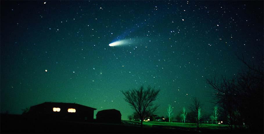 Кометы видимые невооруженным глазом