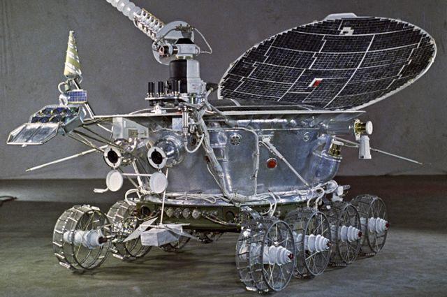 Потерянный на Луне советский «Луноход-1»