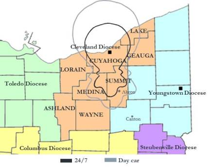 coverage map for website