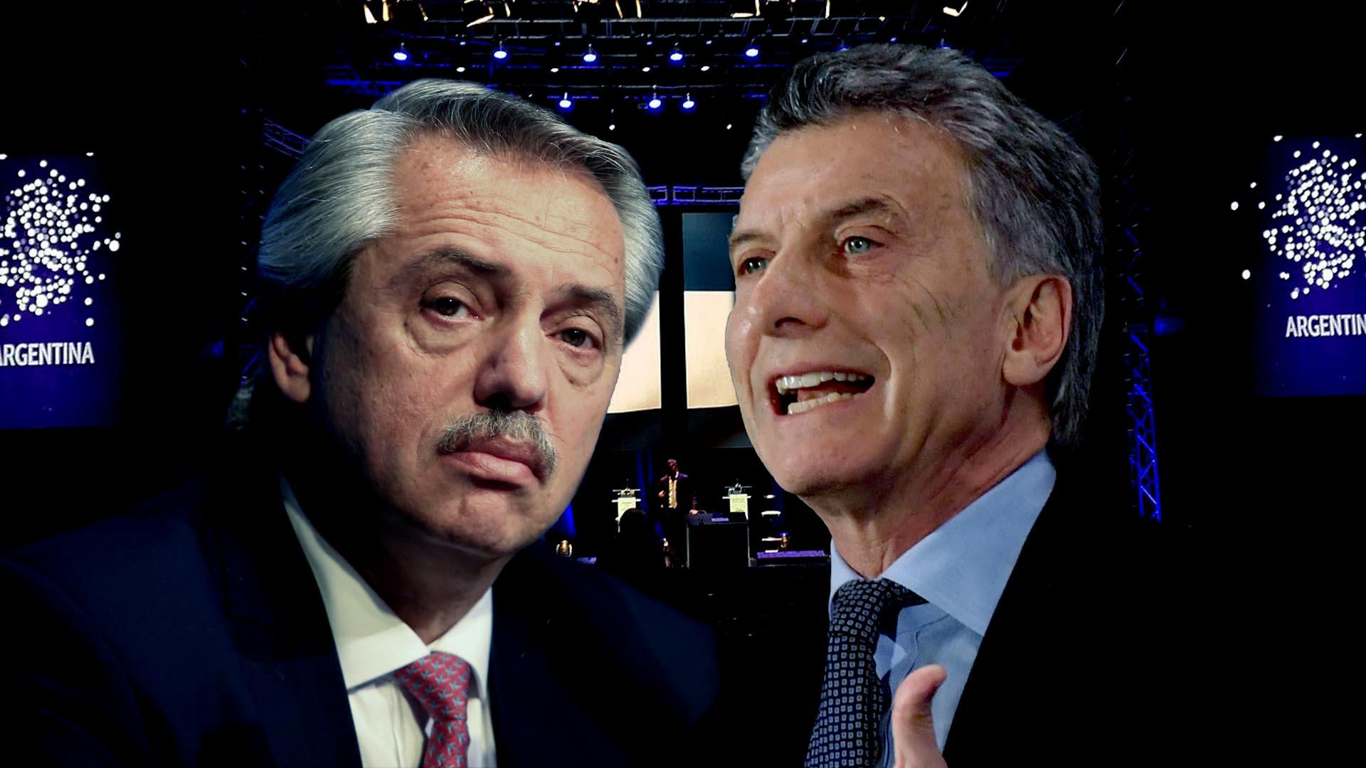 Macri y Alberto Fernández comparten un seminario en el MALBA
