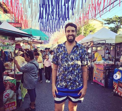 """Flavio Azzaro desde Tailandia: """"Tinelli quiere estar en todos lados y tiene que estar preocupado por Diego Monarriz, los wichís y a la vez por Pachano"""""""