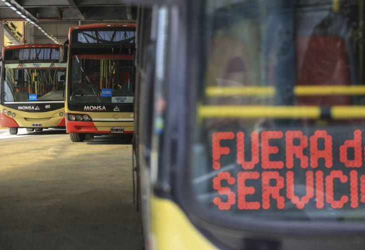 La CNRT sancionará a las empresas de colectivos que hicieron paro