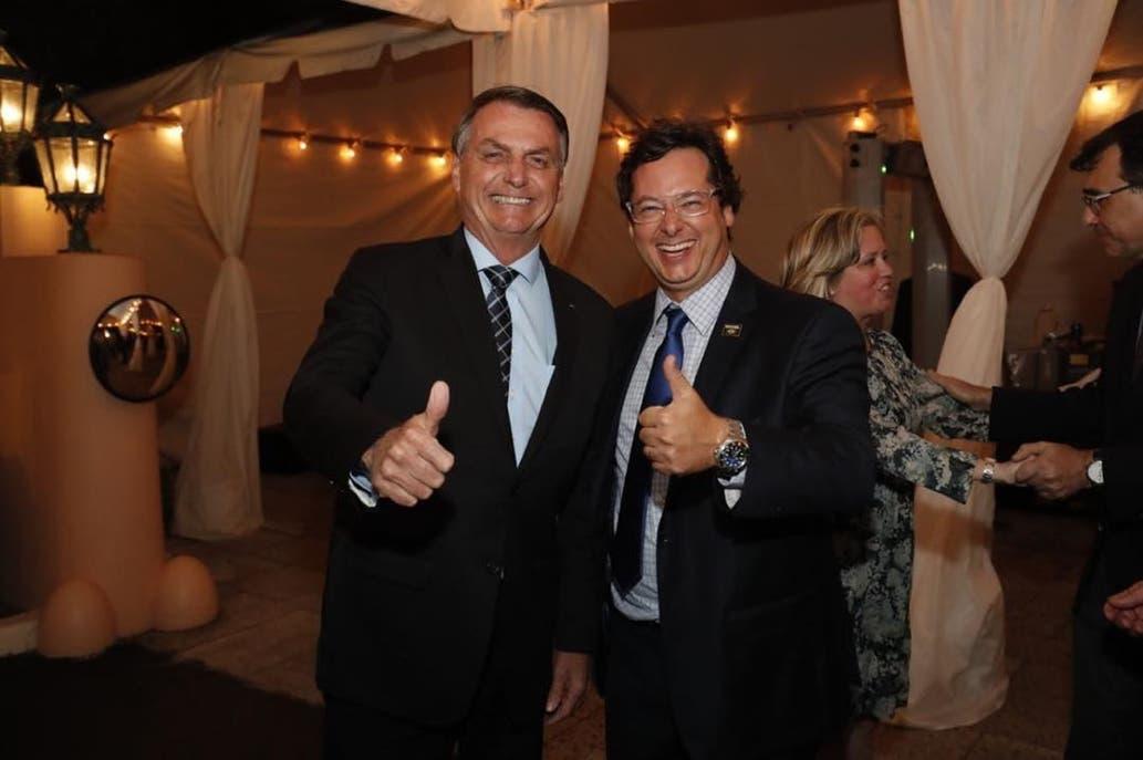 El secretario de Bolsonaro que estuvo con Trump el sábado tiene coronavirus