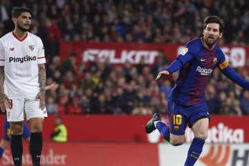 Barça Messi CHampions League Sevilla