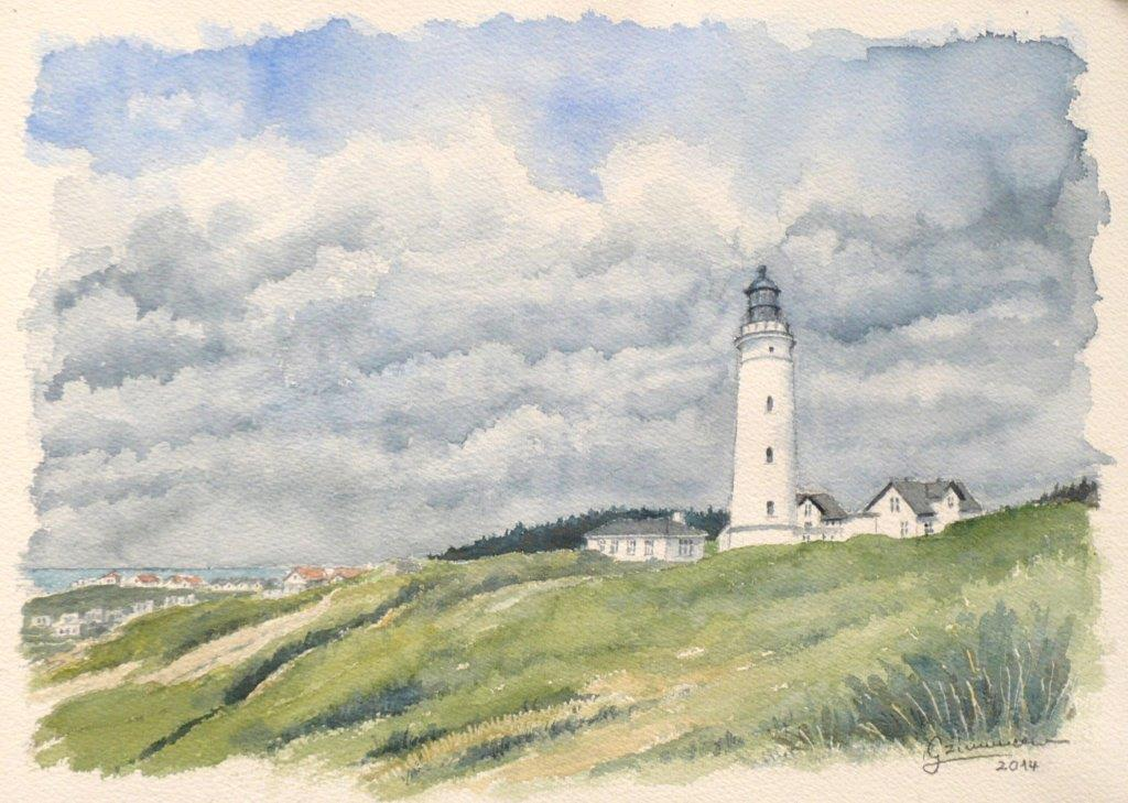 Phare de Hanstholm Danemark