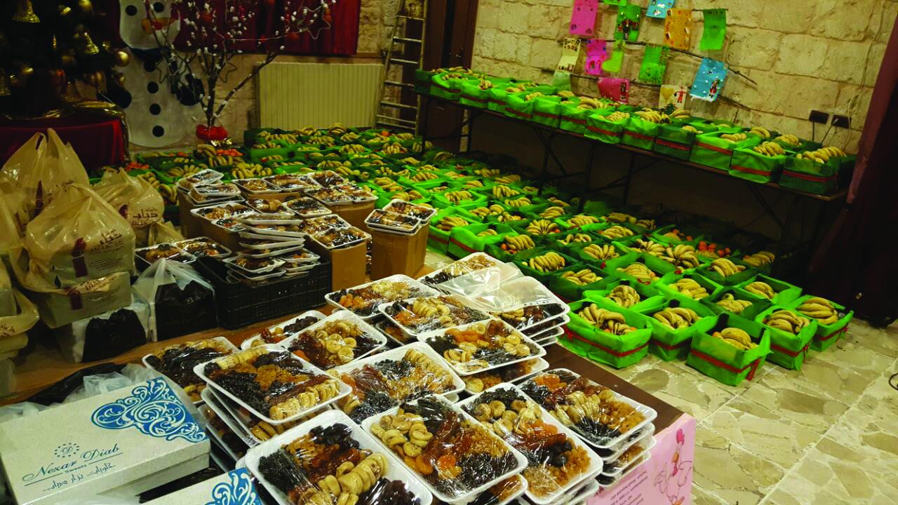 Food Distribution on Christmas
