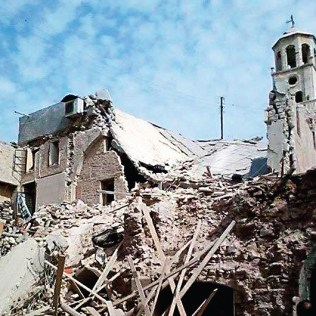 The recently destroyed Fifteenth Century Forty Martyrs Armenian Cathedral in Aleppo, is but one testament to the scars violence continues to inflict on human life and spiritual values. Difficulties, humanity still must overcome.
