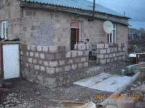 Exterior of home in need of repair