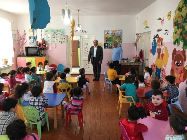 Zaven Khanjian at Stepanakert KG