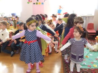 Stepanakert KG Students