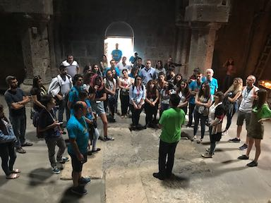 Visit to Haghartzin monastery complex