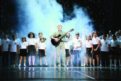 Avedisian School Students singing