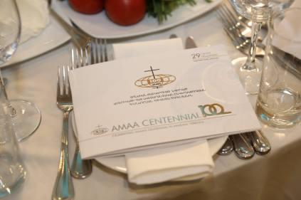 Centennial Banquet Program