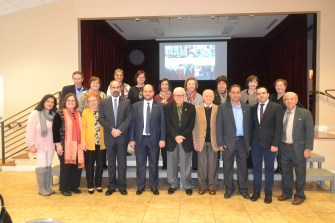Mr. Arayik Harutyunyan with Board Members